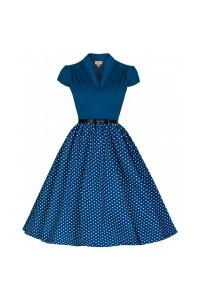Šaty Lindy Bop modré