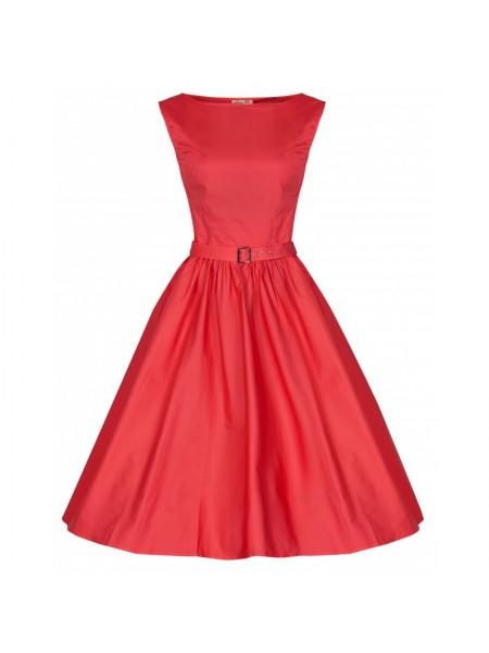 Šaty Lindy Bop vintage červené