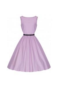 Šaty Lindy Bop vintage candy pink