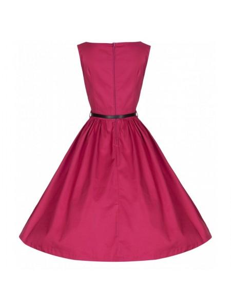 Šaty Lindy Bop vintage sangria
