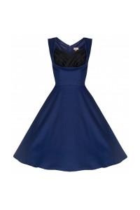 Šaty Lindy Bop tmavě modré