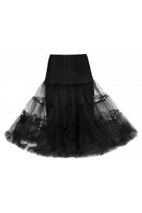Černá spodnička k šatům Lindy Bop černá