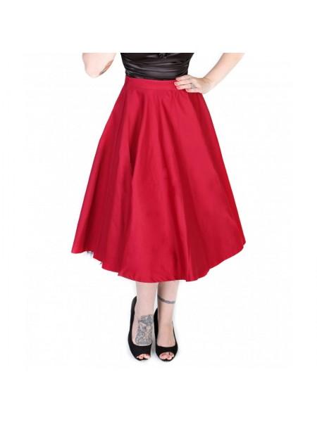 Sukně Lindy Bop červená