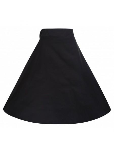 Sukně Lindy Bop černá s mašlí