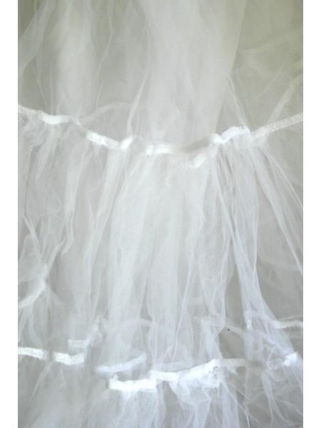 Bílá spodnička k šatům Lindy Bop
